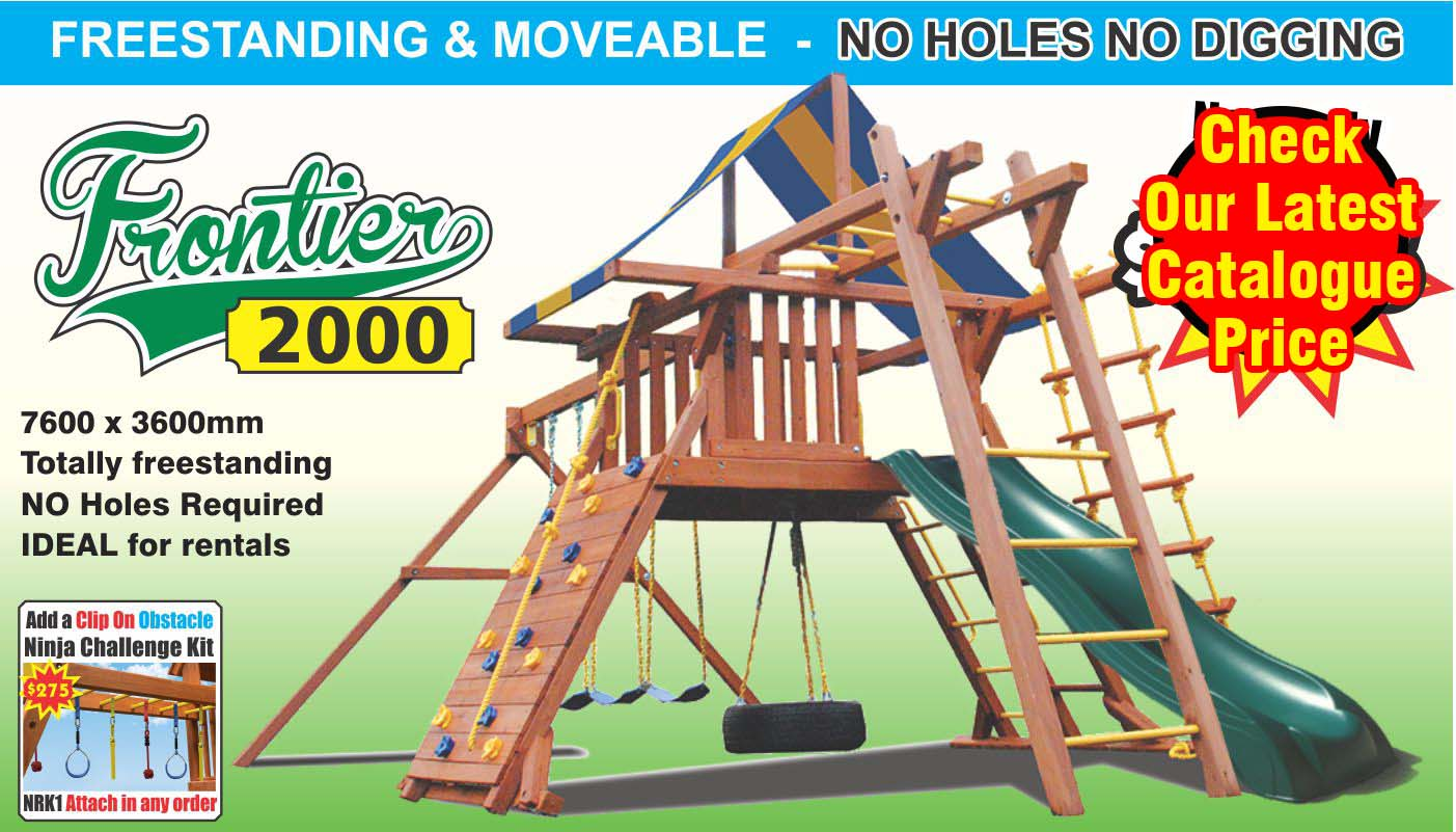 "The Frontier 2000 Playcentre is the very definition of a ""complete activity centre"