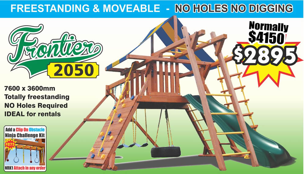 "The Frontier 2050 Playcentre is the very definition of a ""complete activity centre"