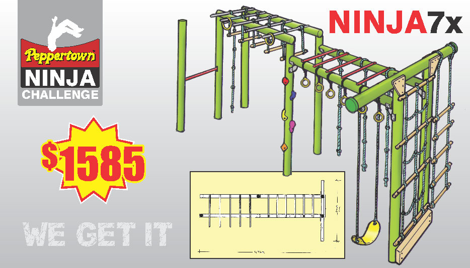 Skyfort SK 200 a comprensive play gym for small children and special needs kids.