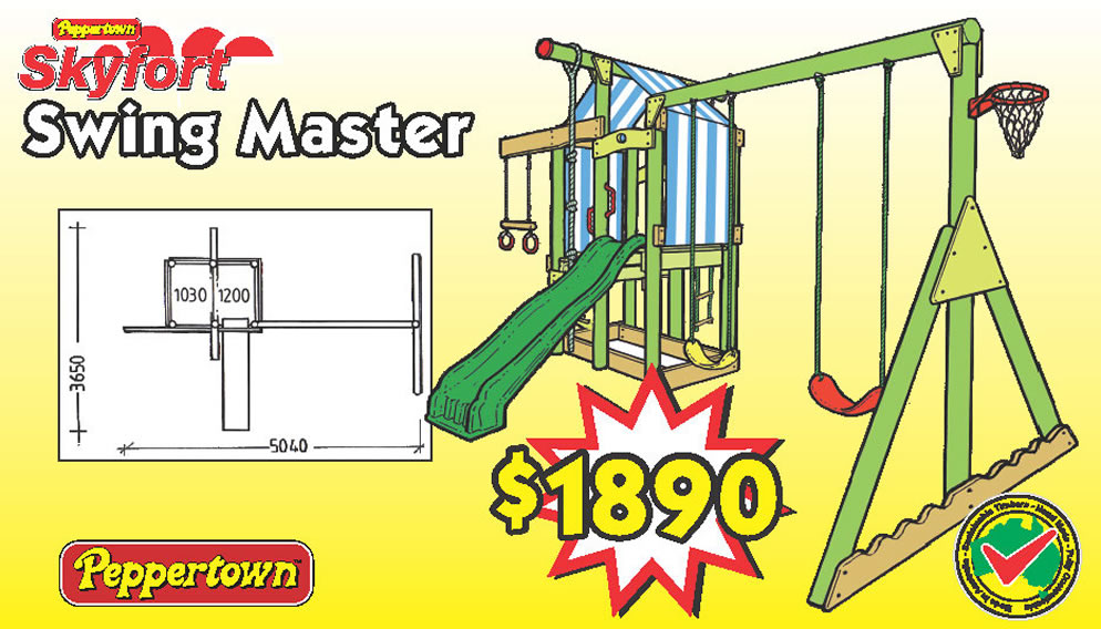 SKYFORT SWING MASTER, is the original Peppertown Skyfort.